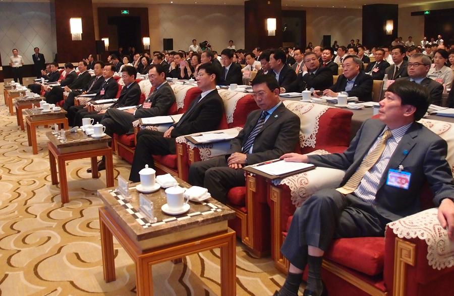 代表團嘉賓在推介會現場。